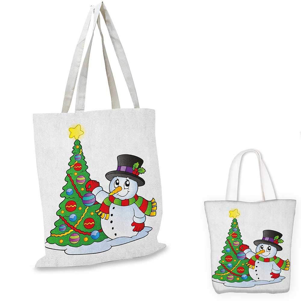 雪だるま3Dスタイル 楽しいキャラクター グリーティングトラディショナルカラー 季節のお祝いテーマ グリーン レッド ホワイト 14