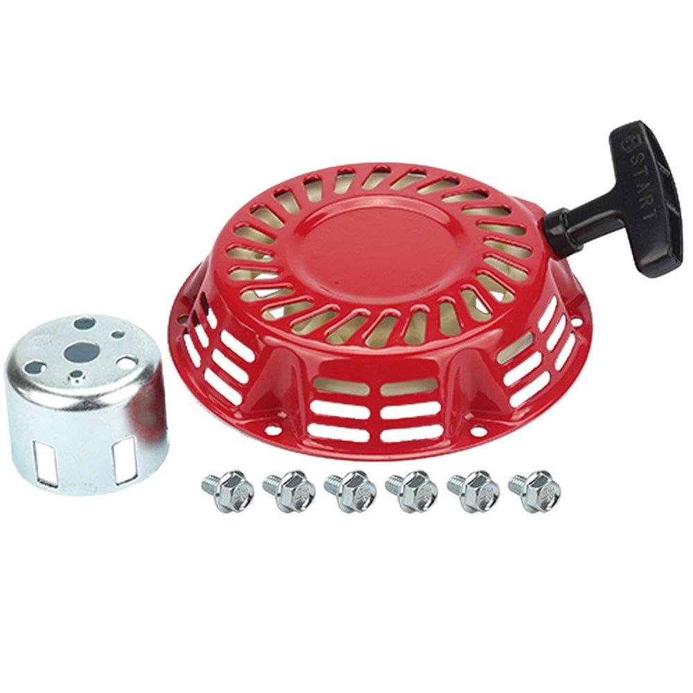 HIPA 0H33750162 Recoil Starter + Cup for Generac GP1800 GP2600 GP3250 CENT3250 Centurion 163cc 208cc 3250W Portable Generator