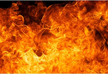 Amazon Com Baocicco 5x4ft Roaring Flame Backdrop Wallpaper Decor Passion Black Background Photography Background Blogger Vlogger Bonfire Party Activities Birthday Party Baby Children Adults Portrait Prop Camera Photo