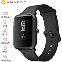 "Xiaomi Huami Amazfit Bip Smart Watch Reflection Color Screen 1.28"" Baro IP68 Waterproof GPS for Android & iOS English…"