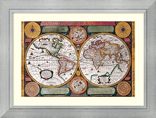 Framed Art Print Terre Universelle  1594 By Petro Plancio