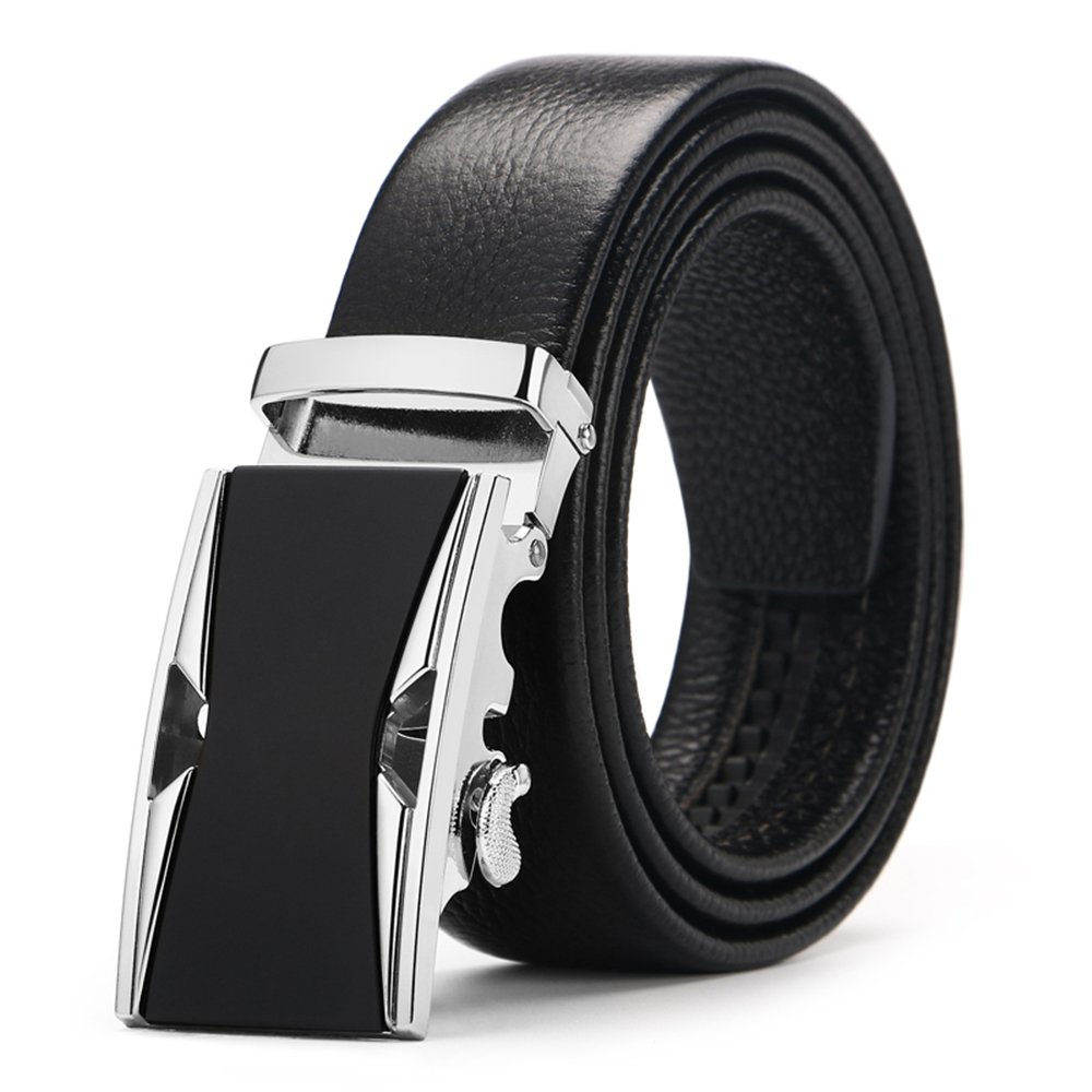 Men's belt, Iztor Genuine Leather belt with Buckle and Enclosed in Gift Box