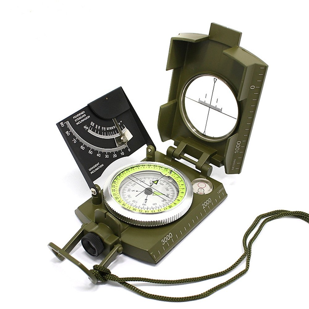 jhopt多目的Military Sight Compasses北with a勾配測定機器のwith測定尺度 B01N5N8A5O