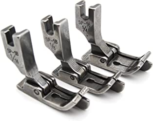 120803 1//8 ckpsms Brand 1PCS Scroll Type Hemmer Foot//Rolled Double Fold Hem Presser Foot for Sewing Machine