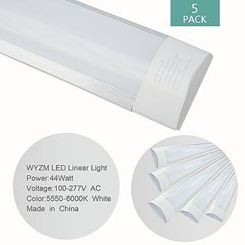 Wyzm T8t10t124 Tube Ft Licht Pack Leuchtstoffröhre Led 4er Röhre kuPiXZ
