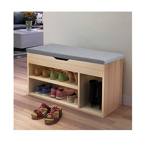 Beau Kimanli Simple Modern Shoe Storage Stool Fashion Sofa Bench Change Shoe  Bench Shoe Rack Space