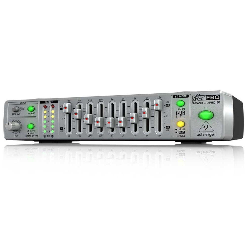 Behringer Mini FBQ 800 - Ecualizador gráfico FBQ800