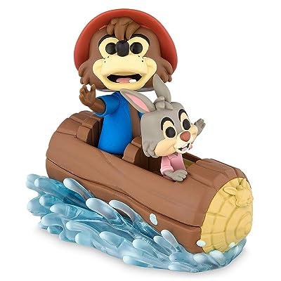 Pop! Rides Disney Parks - Splash Mountain Exclusive Vinyl Figure w/ Br'er Bear & Br'er Rabbit: Toys & Games