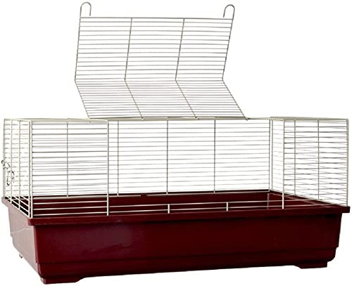 Marchioro Usa SMO37621 Model Goran 72 Rat Wire Cage, Wine White