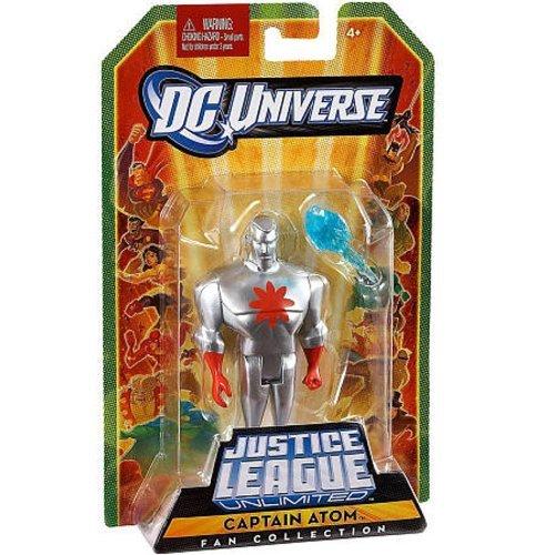 (DC Universe Justice League Unlimited Fan Collection Action Figure Captain Atom Silver)