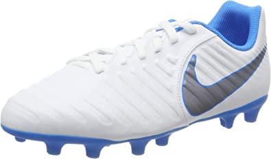 dentro de poco Implementar Funeral  Nike Tiempo Legend 7 Club Fg Jr Ah7255 107 Football Boots: Amazon.co.uk:  Shoes & Bags