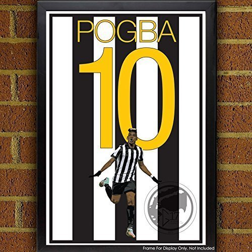 Paul Pogba Poster - Juventus Art