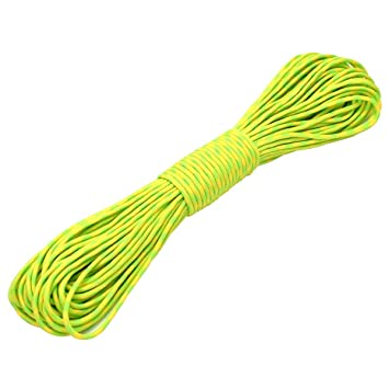 Camping /30/m/ FuckTheFear 550/Paracord 100/ft/ /BUY NOW. Garden or for braiding Bracelets/ /ideal for the Outside