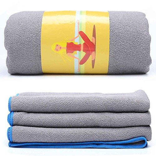 Loel Brikram Hot Yoga Towel- Microfiber SUEDE Non Slip Hot