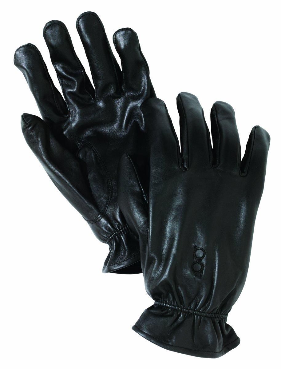 Bob Allen Leather Unlined Gloves (Black, Medium)