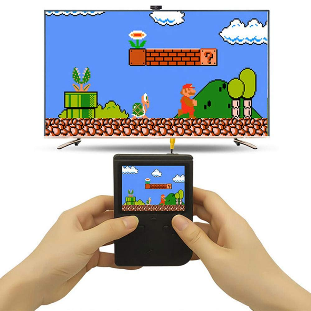 Handheld Game Console For Kids,Womdee 168 Classic Games 3 Inch LCD Screen Portable Retro Video Game Console,TV Output Mini Pocket Handheld Game Player,Birthday Gifts For Kid And Adult Nostalgic Player by Womdee (Image #6)