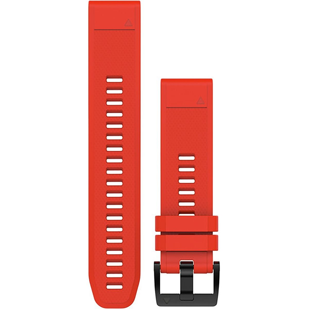 Garmin QuickFit 22 Watch Band Flame Red Silicone, One Size