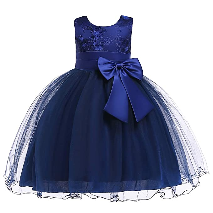 887ddcc5ec145 Image Unavailable. Image not available for. Color: LZH Baby Girls Dress  Flower Ball Gown Party Wedding Special Princess Formal Dresses