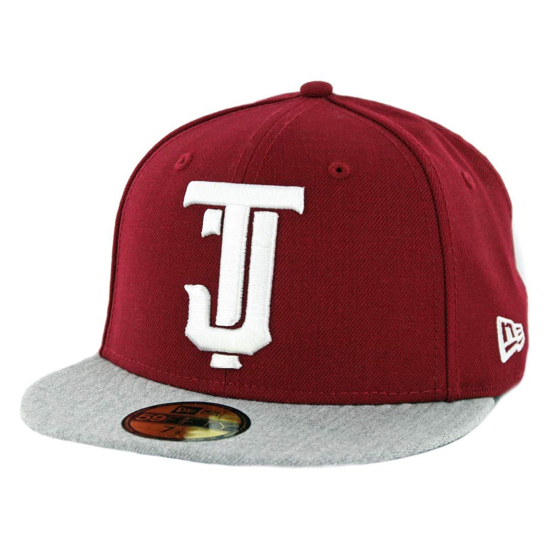 Cardinal//BK-BK Mexico Baseball Cap New Era 5950 Toros de Tijuana Fitted Hat
