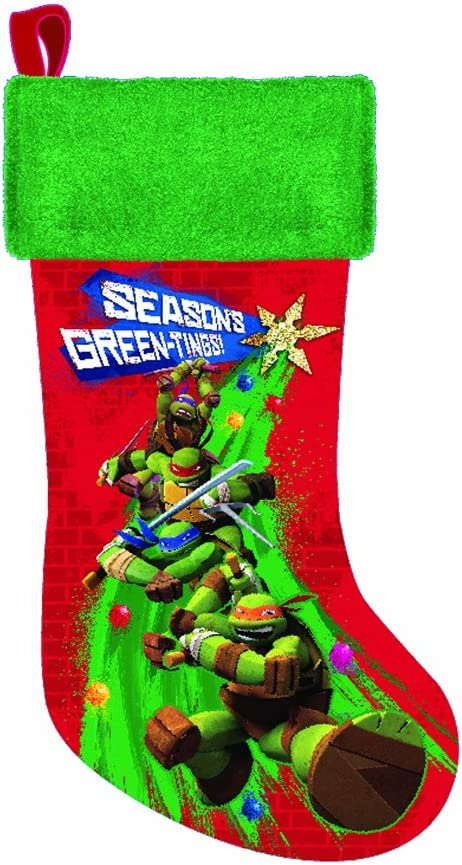 Teenage Mutant Ninja Turtles Printed Stocking, 19-Inch