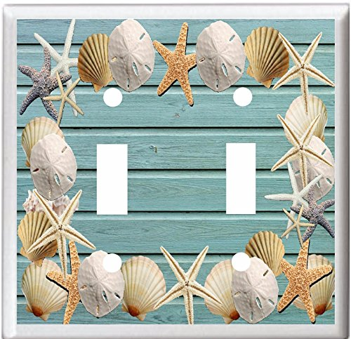 SEASHELLS BEACH SWITCH OUTLET Toggle