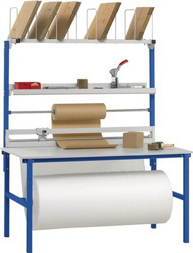 Packtisch-Set B 2000xT 800 mm Aufbauten Variante 2