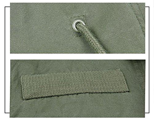 Cappotto Donne A Con Militare Rimovibile Belle Marrone Vento Giacca Pelliccia In Per Parka Vannes Fodera Kaki t5Xx0XOqw