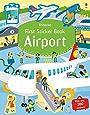 First Sticker Book Airports (First Sticker Books)