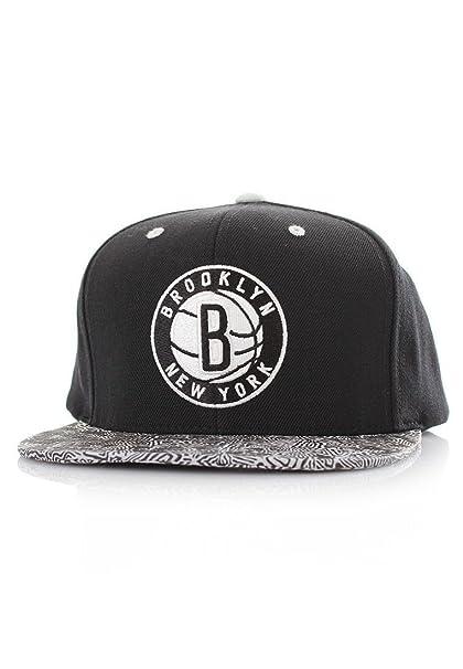 c60961e9d9432 Gorra Mitchell   Ness - Court Vision Nba Brooklyn Nets Negro Osfa ...