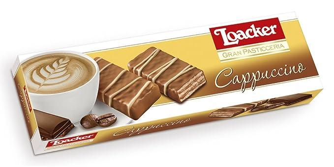 Paquete Galletas Gran Patisserie Cappuccino Loacker 100 Gr