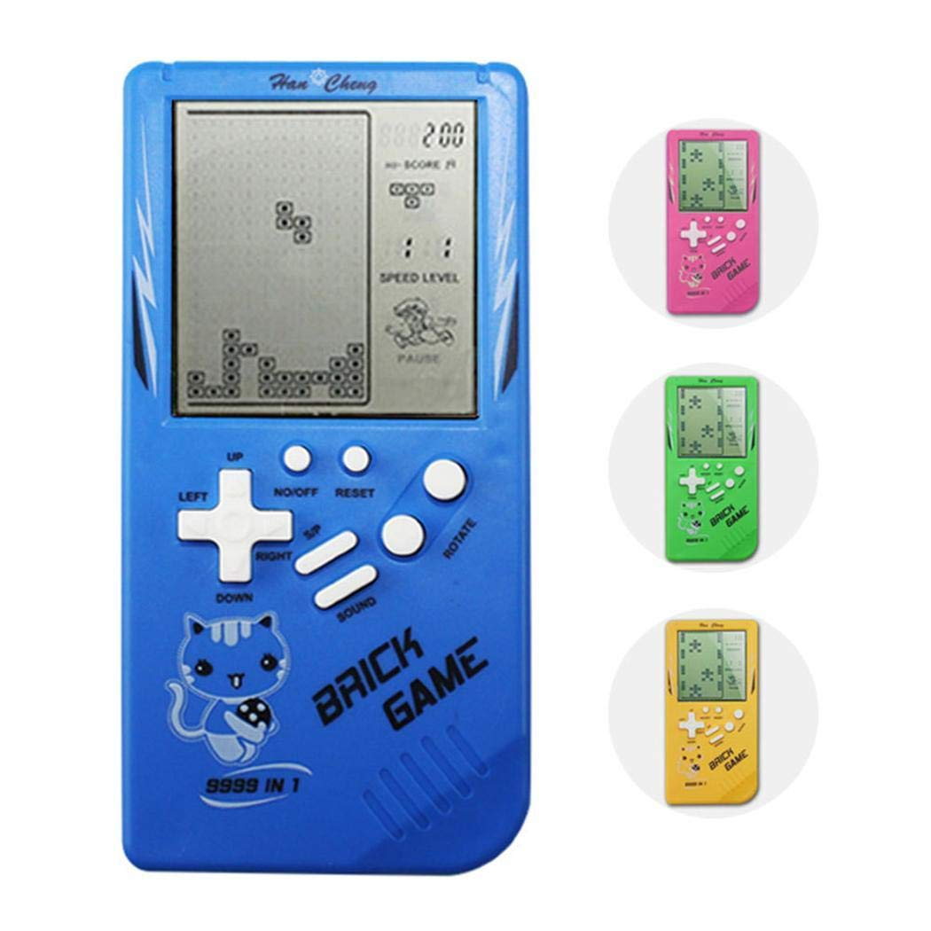 Sunywear 14.5 x 7 x 2cm New Tetris Handheld Game Console Portable Game Handheld Toys Handheld Games Color Random by Sunywear (Image #1)