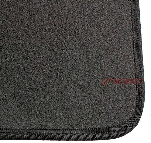 Precision Tailor Fitted Grey Classic Car Mats with Black Twist for Ḟord Mondeo 2015-2018 PN.SSSGYQ215