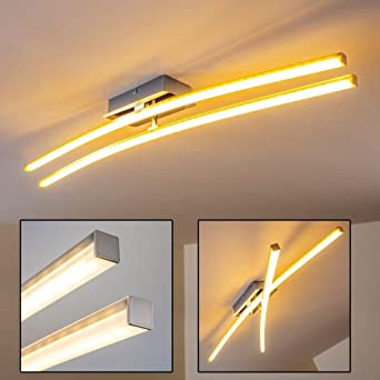 zearo led deckenleuchte drehbar küchen wohnzimmer flur design ... - Wohnzimmer Design Leuchten