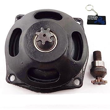 STONEDER Caja de Engranajes 25H 7 para Batería de Embrague DE 47 CC 49 CC de Bolsillo para Bicicleta Mini Dirt ATV: Amazon.es: Coche y moto