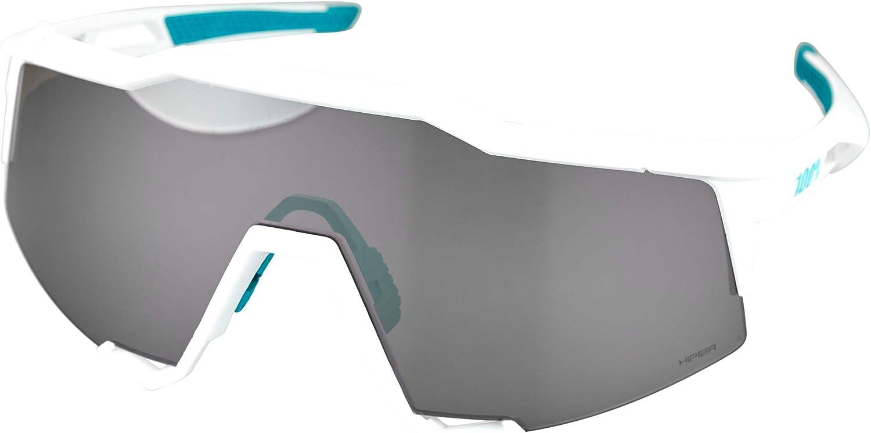 100/% GAFAS SPEEDCRAFT HiPER Silver Mirror Lens BORA Hans Grohe Team White