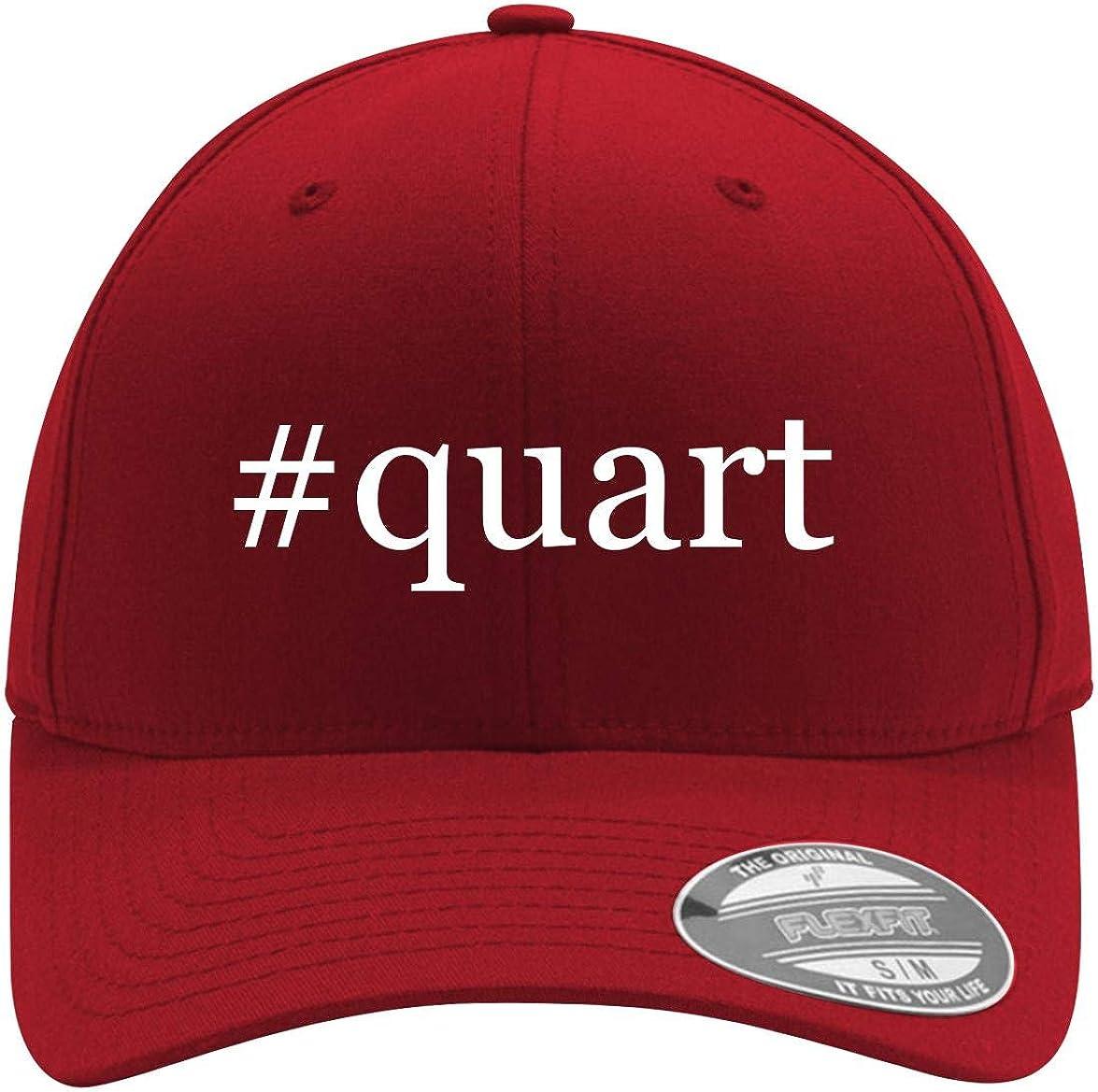 #quart - Adult Men's Hashtag Flexfit Baseball Hat Cap