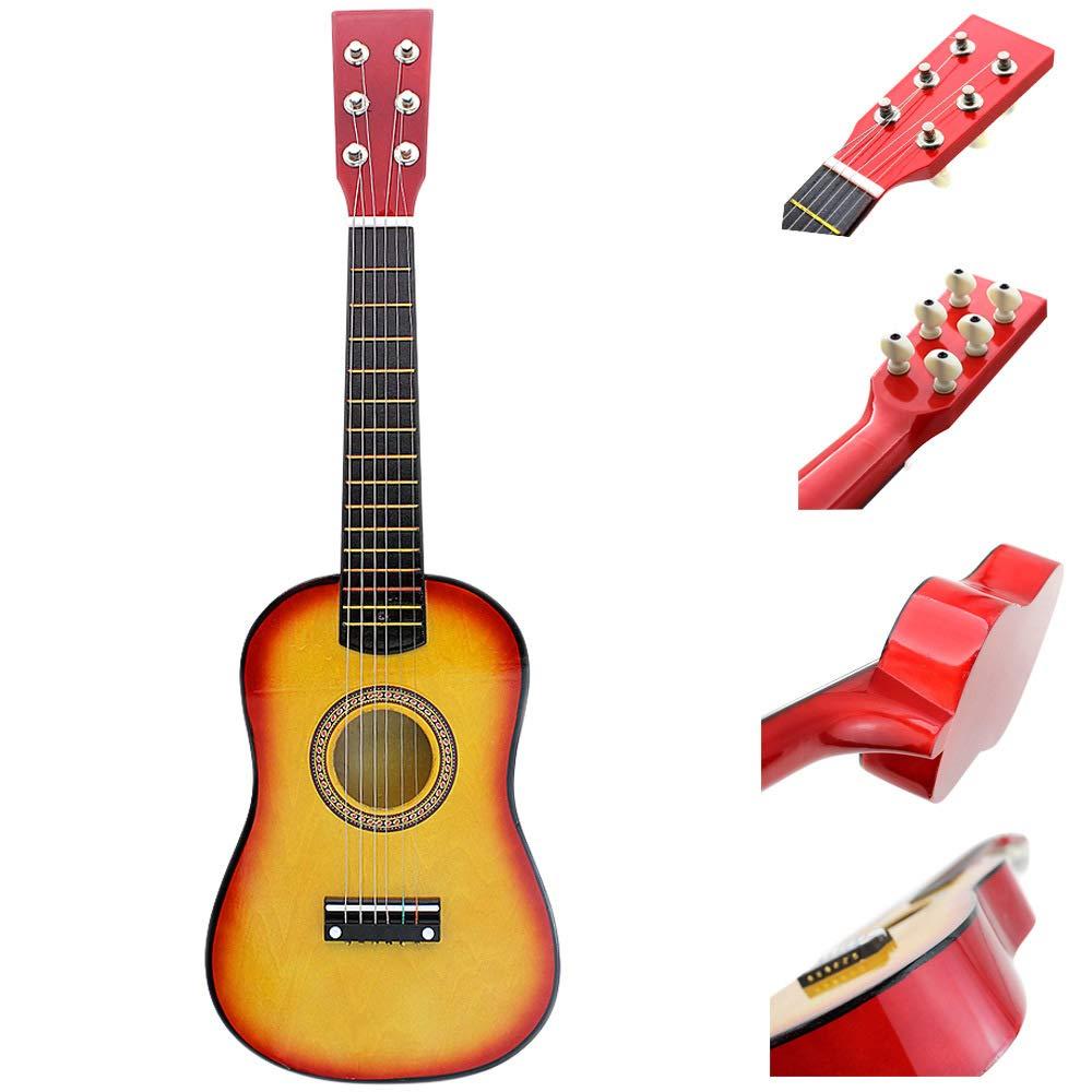 Wgrdyq 23 Pulgadas Guitarra Principiante niños práctica de Juguete ...