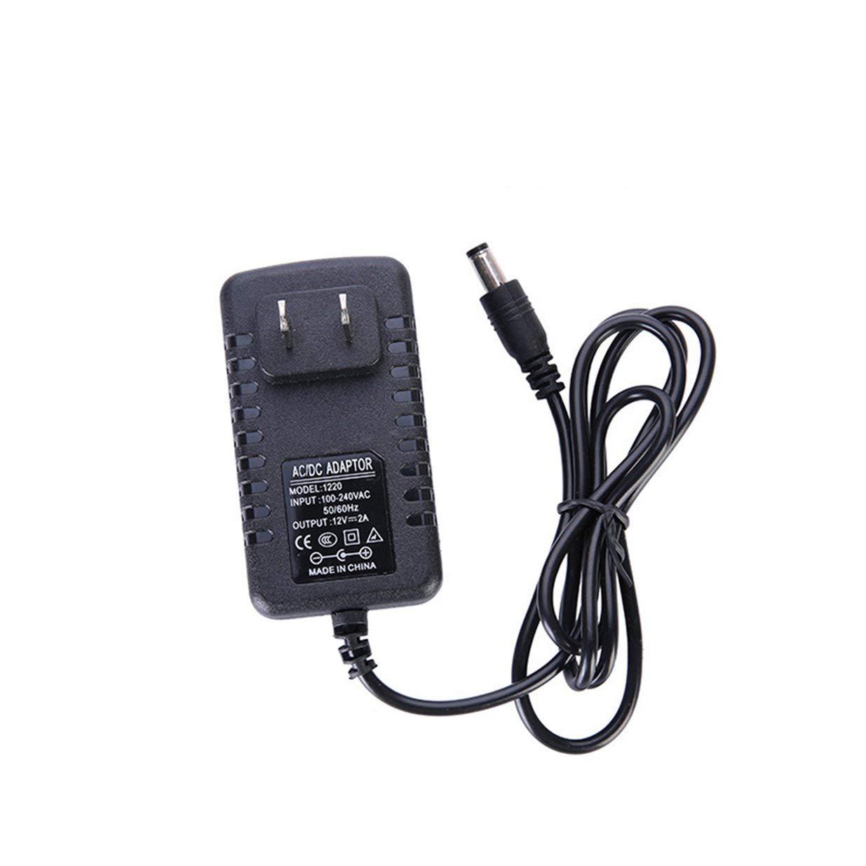 Banbie8409 AC Electric Air Pump Home Inflate Deflate For Air Mattress 100V~240V//12V-black