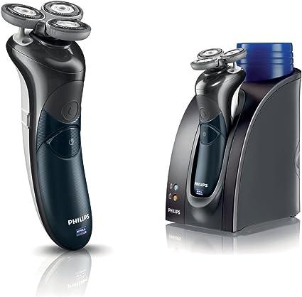 Philips HS8460 con soporte de carga y rellenado Afeitadora NIVEA FOR MEN, 1.5 h - Maquinilla de afeitar: Amazon.es: Salud y cuidado personal