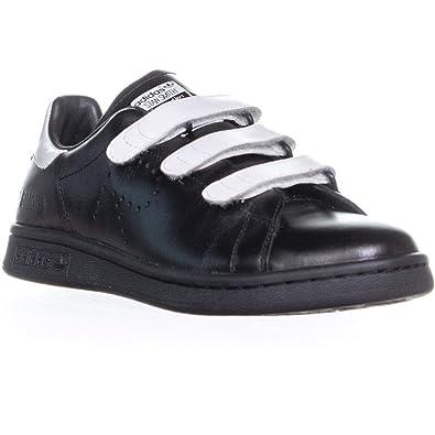 newest f4ed8 833f8 Amazon.com  adidas by RAF Simons RAF Simons Stan Smith CF BlackWhite, UK  7 (US Mens 7.5, US Womens 8.5) Medium  Fashion Sneakers