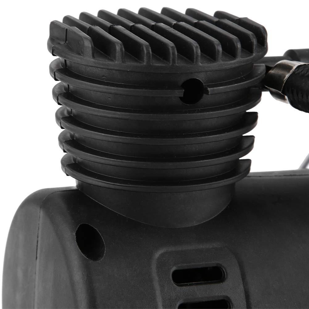 Cuque 12V 300PSI Compressore dAria Portatile Universale per Pneumatici in Plastica per Auto Moto Camion Bicicletta