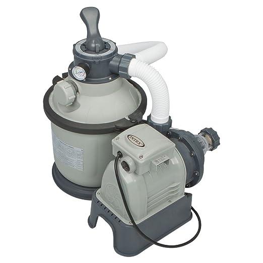 69 opinioni per Intex- Pompa di filtraggio a sabbia per piscine fuoriterra e interrate, 4.000