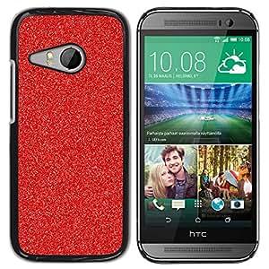 For HTC ONE MINI 2 / M8 MINI Case , Christmas Decoration Glitter Sparkle - Diseño Patrón Teléfono Caso Cubierta Case Bumper Duro Protección Case Cover Funda
