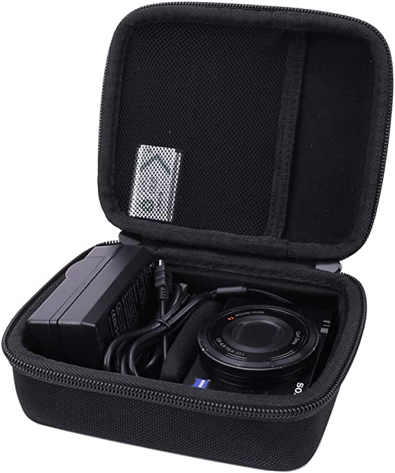 Bolsa p Sony Cyber-shot DSC-RX100 V Mano Funda Estuche Carcasa Protector