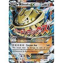 Pokemon Steam Siege XY11 Single: Mega Steelix-EX 68/114 Ultra Rare