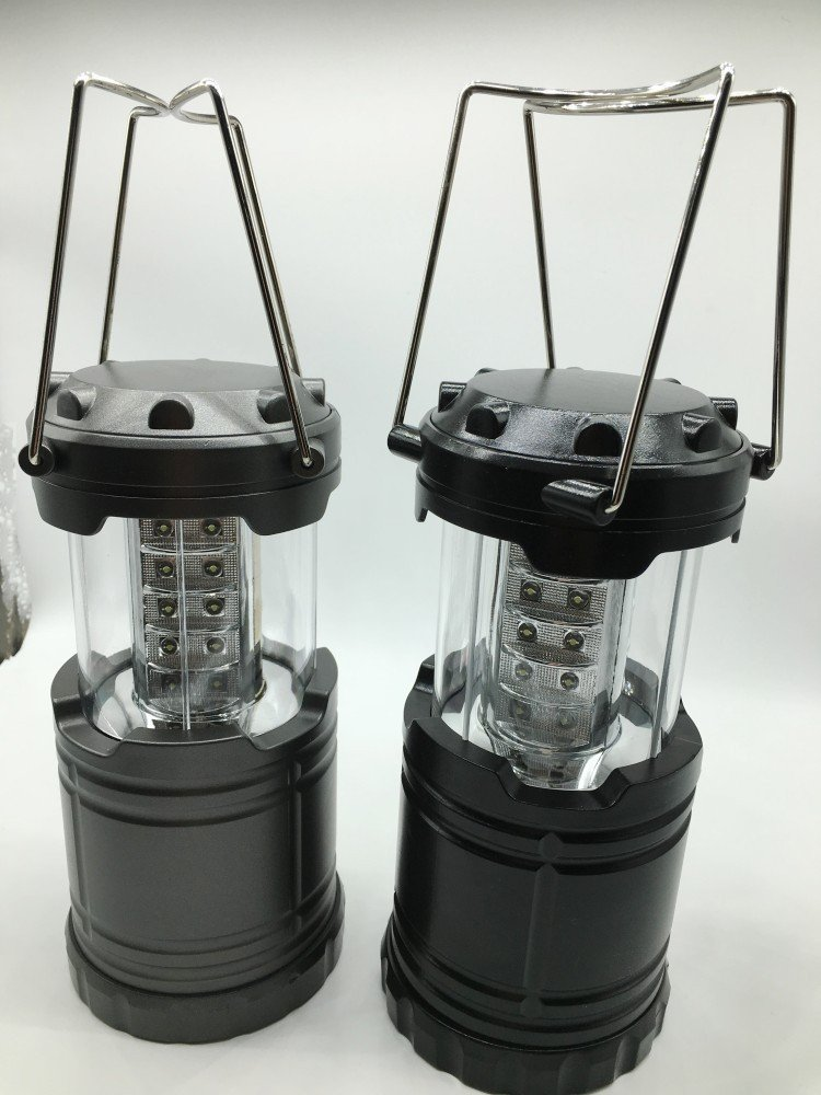 elegantstunning 30LEDs Portable Battery Powered Super Bright Collapsible Outdoor Camping Lantern Light Lamp