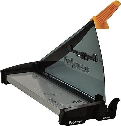Fellowes Fusion A3 - Guillotina de papel tamaño A3, capacidad de corte 10 hojas, color negro y gris: Amazon.es: Oficina y papelería