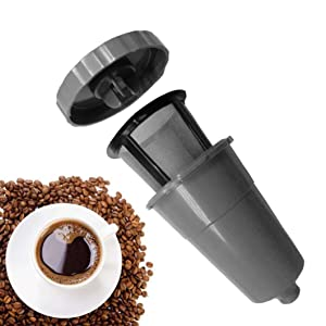 SUJING Reusable Replacement Coffee Filter Refillable Holder for Keurig My K-Cup