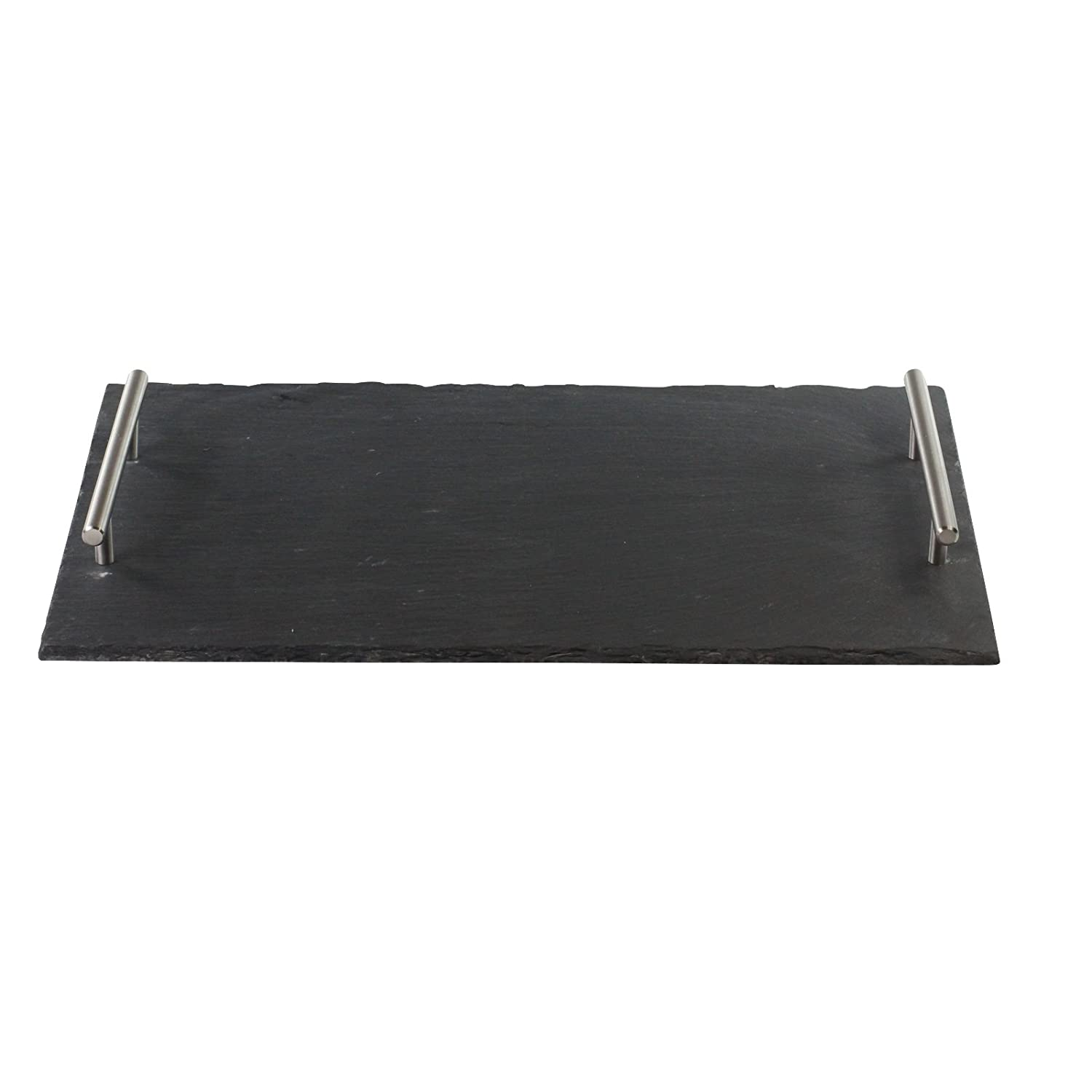Slate Serving Board with Handles Large 25x40cm Cheese Board