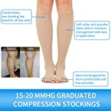 SKYFOXE Medical Compression Socks 15-20 mmHg Open